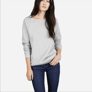 Everlane French Terry Cotton Pullover Sweatshirt